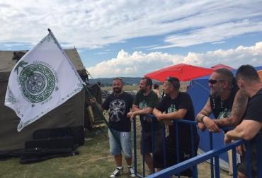 O parte dintre organizatorii Celtic Transilvania