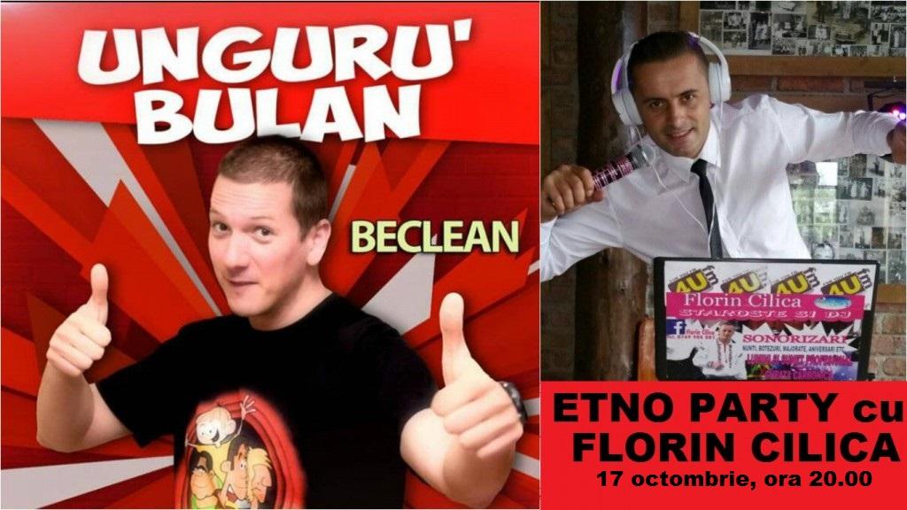 Unguru' BULAN vine la Beclean! După show-ul de stand-up comedy beclenarii vor putea petrece cu Florin Cilica