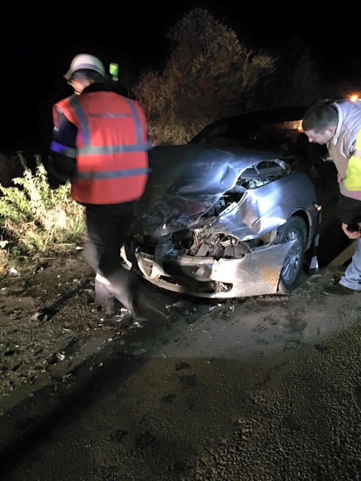 ACCIDENT GRAV în Rusu de Sus! Un șofer de 21 de ani a ajuns în stare gravă la spital! – GALERIE FOTO