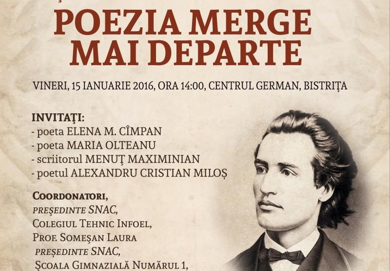 Workshop la MUZEU! Complexul Muzeal Bistrița-Năsăud organizează un eveniment în memoria lui Eminescu