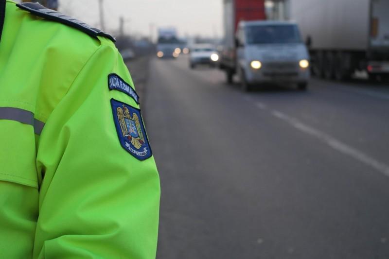 Ce a pățit un cetățean moldovean, prins conducând fără permis prin Beclean