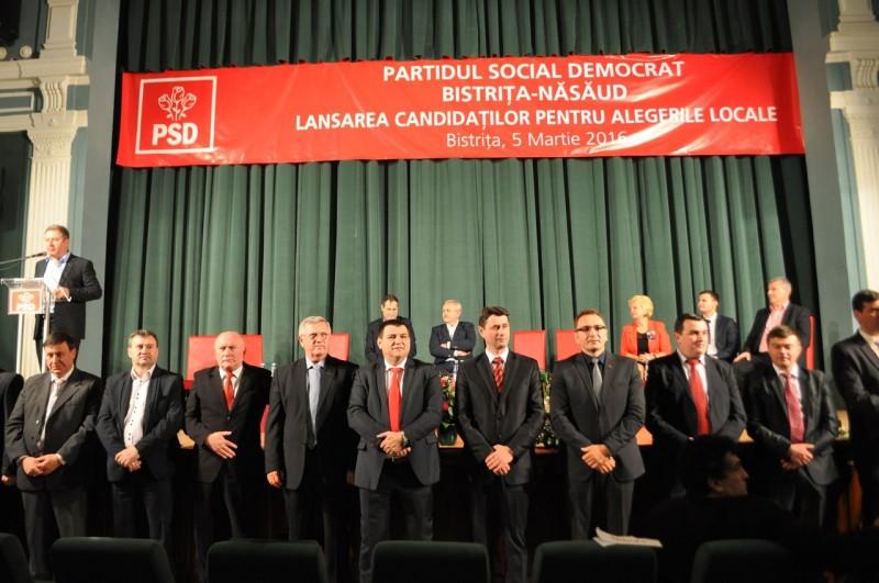 Ce a declarat primarul Nicolae Moldovan la evenimentul de lansare al candidaților PSD Bistrița-Năsăud pentru alegerile locale – FOTO