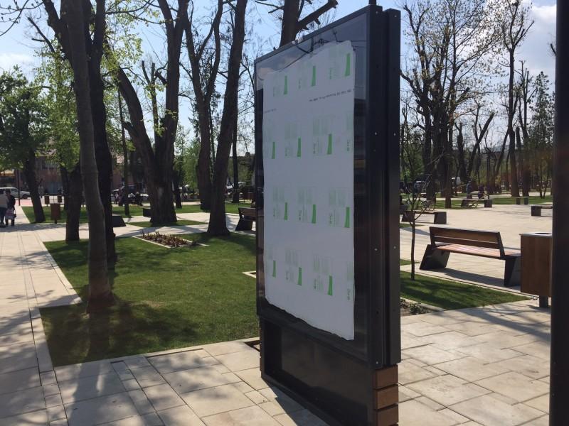 Ce se va întâmpla cu ecranele URIAȘE montate în centrul orașului – GALERIE FOTO