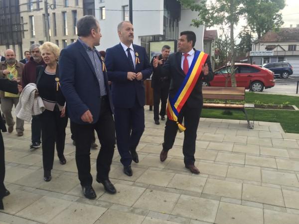 Vasile Dîncu, la Beclean! Ce crede vicepremierul despre investițiile din orașul de pe Someș – FOTO