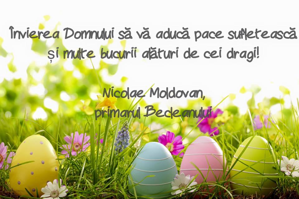 Ce mesaj le-a transmis primarul Nicolae Moldovan tuturor beclenarilor de sărbători