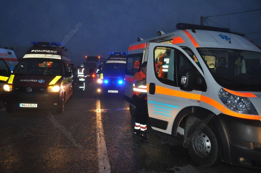 Accident rutier grav în Șintereag! S-a instituit cod roşu de intervenţie – FOTO&UPDATE