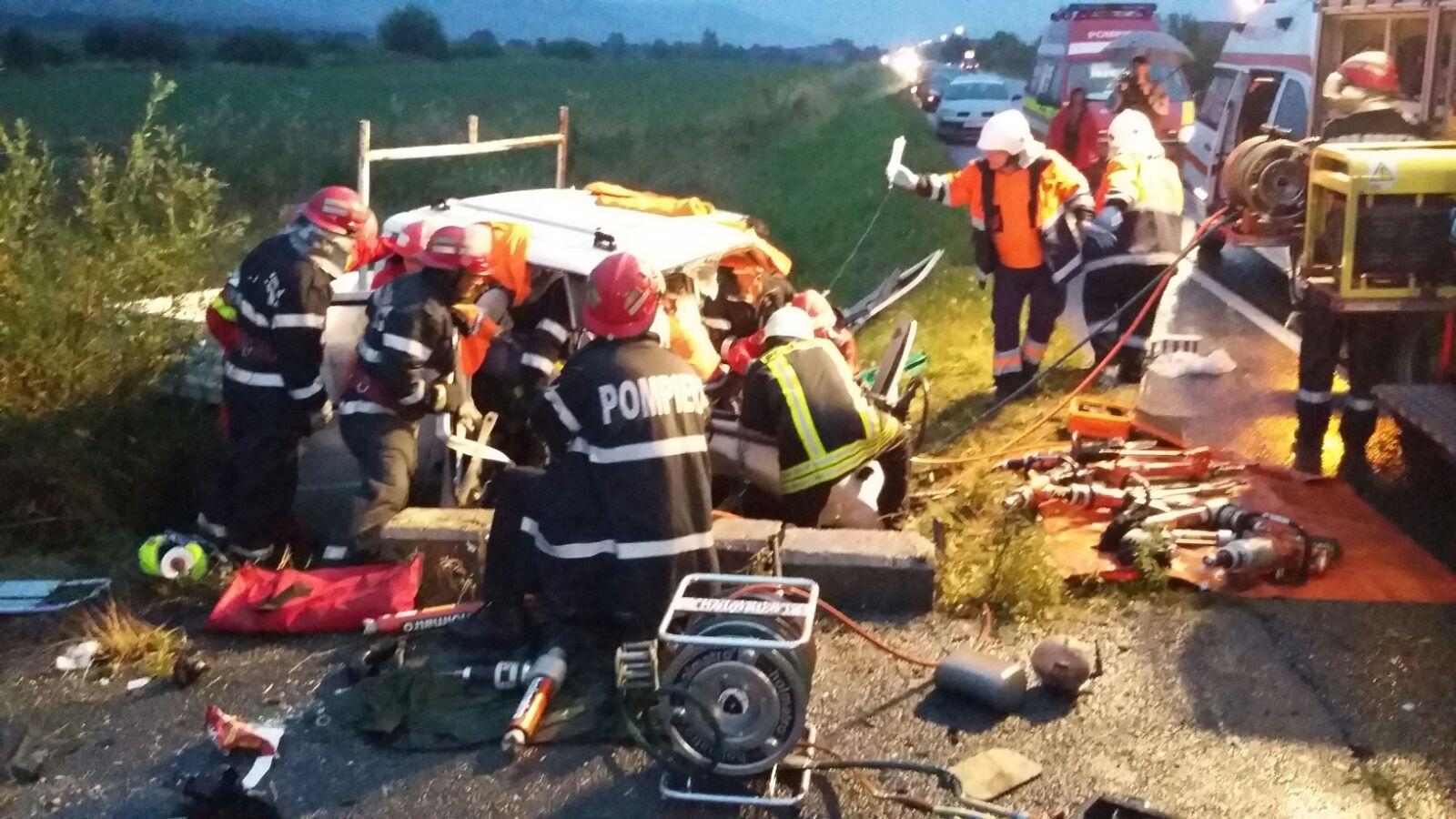 Tragedie fără margini! Doi bărbați, unul din BECLEAN și altul din Breaza, au murit în urma unui accident grav – FOTO