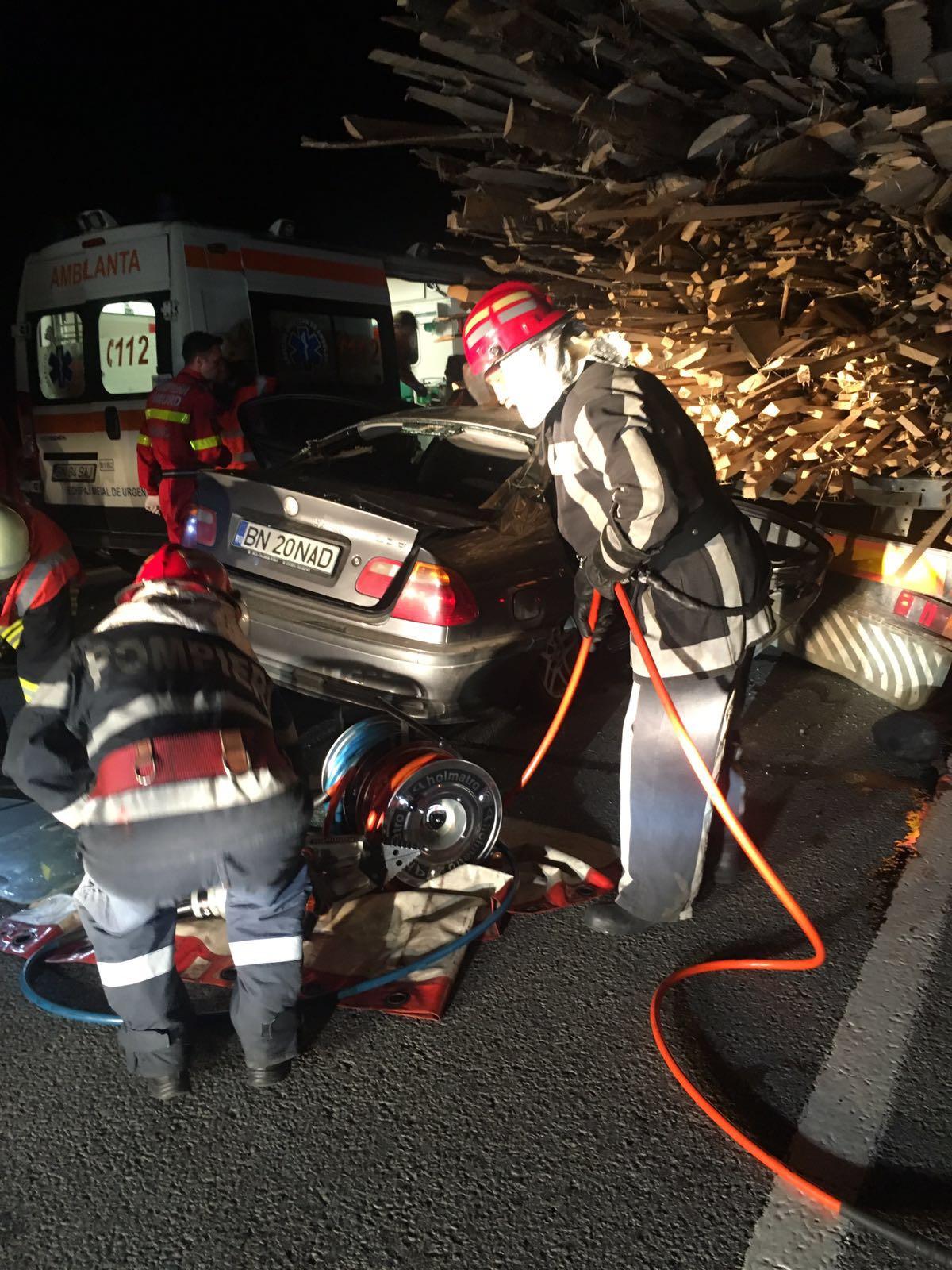 Ce s-a întâmplat cu șoferul BMW-ului implicat în accidentul de la Șintereag, soldat cu doi morți