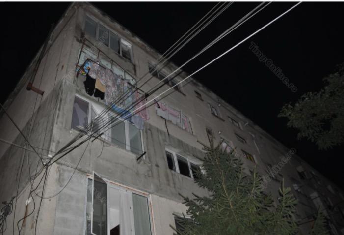 Explozie puternică într-un bloc din Bistrița! Nouă persoane rănite și zeci de apartamente afectate – FOTO