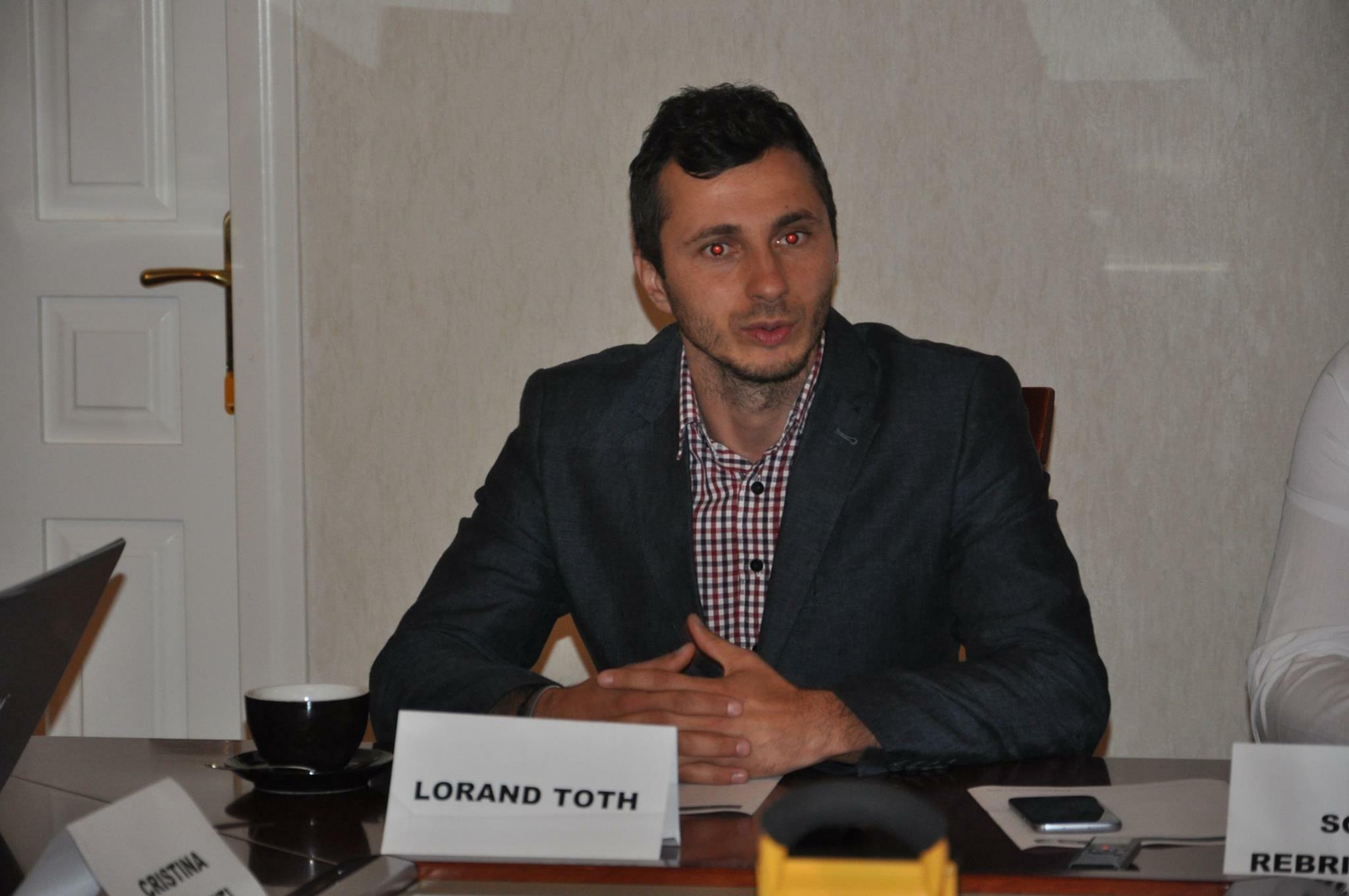 Beclenarul Lorand Toth va candida pentru funcția de senator din partea USR Bistrița-Năsăud