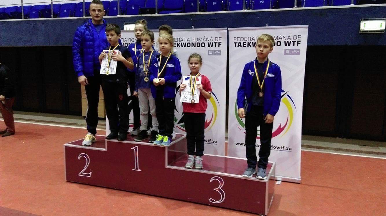 Sportivii beclenari au ajuns pe podium la Cupa României la Taekwondo – FOTO