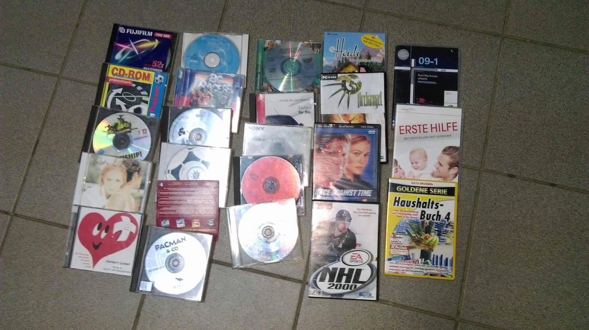 Ce a pățit un bărbat care vroia să vândă CD-uri contrafăcute în piața din Beclean