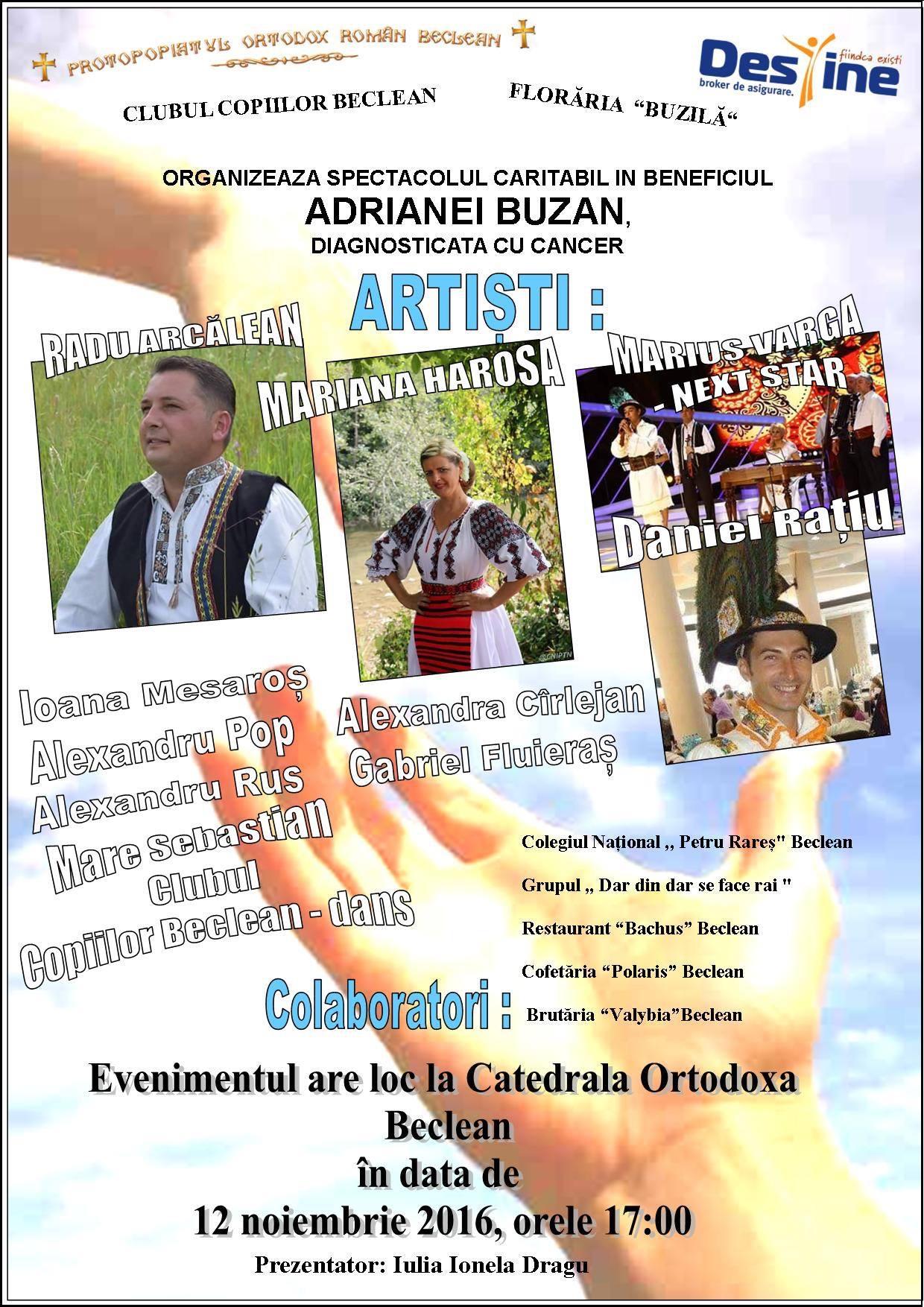 Eveniment caritabil la Beclean, plin de surprize pentru toți participanții. Totul, pentru o mămică bolnavă de cancer – FOTO