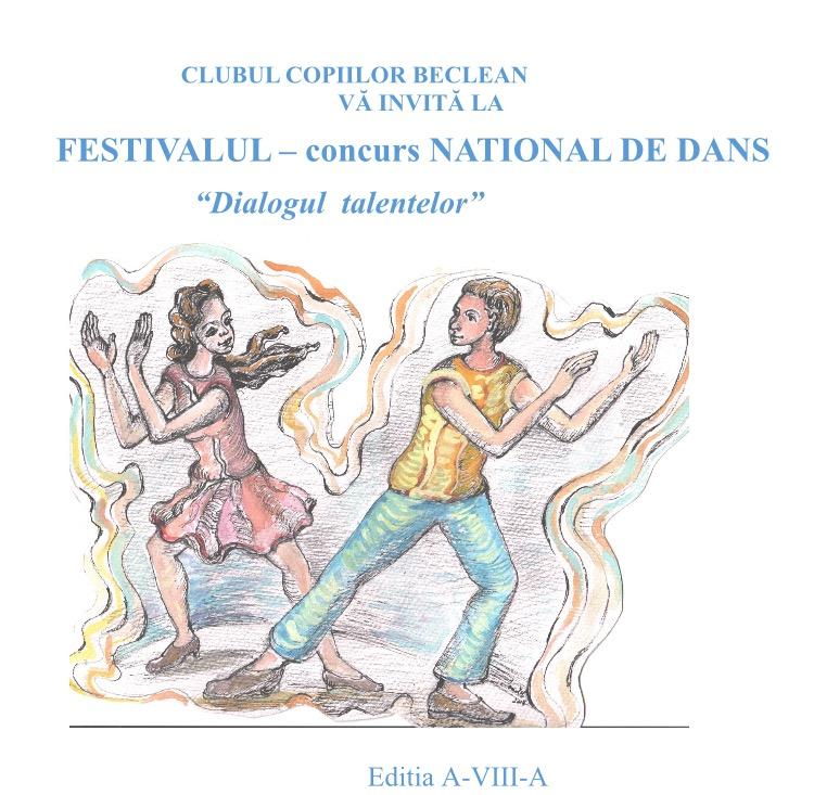 Concurs de dans la Beclean! Aproape 400 de elevi din nouă județe se vor întrece în pași de dans