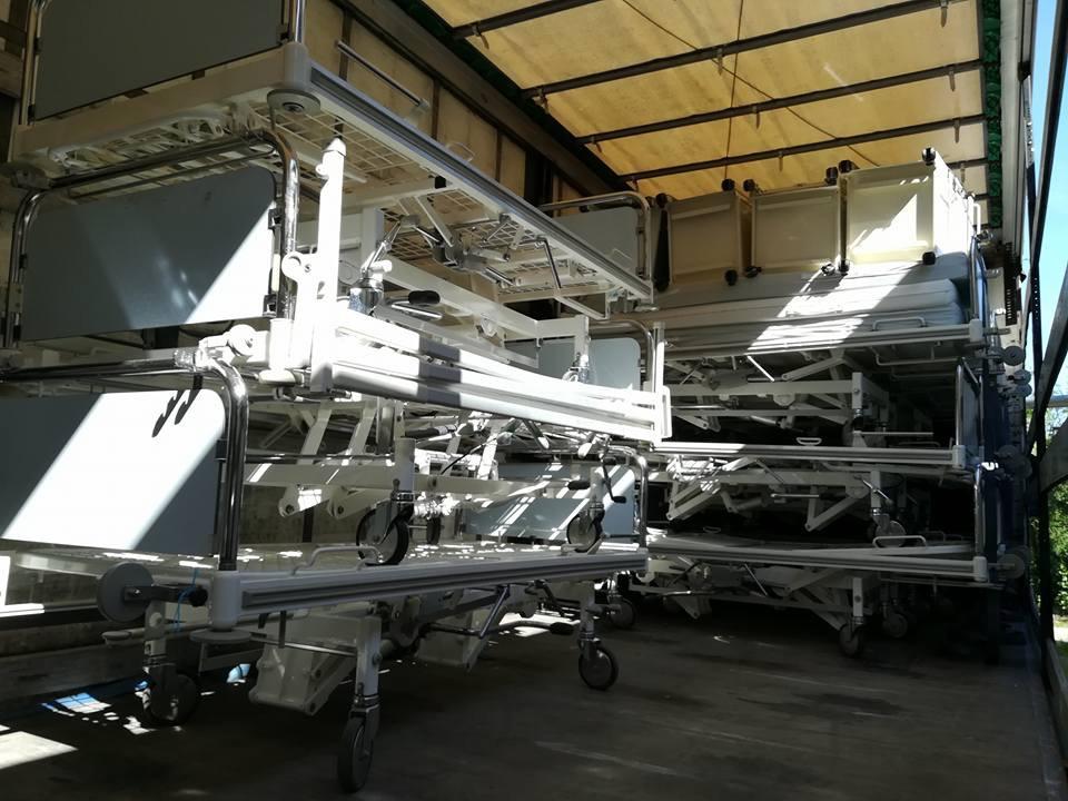 Un nou set de paturi, donate Spitalului din Beclean! Ce spune managerul Bogdan Tușa – FOTO