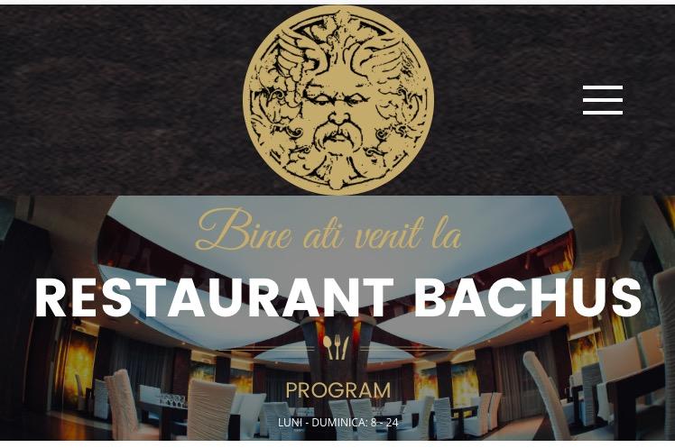Restaurantul Bachus, singurul din Beclean care poate primi comenzi online! Iată cum puteți cumpăra de mâncare pe internet