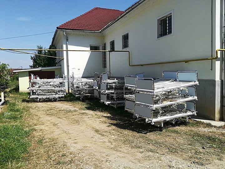 Încă un transport de paturi din Germania a ajuns la Spitalul din Beclean. Declarația managerului