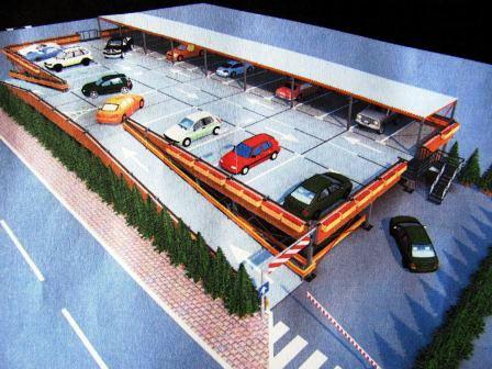 Cum va funcționa prima parcare etajată din Beclean și ce facilitați vor avea riveranii