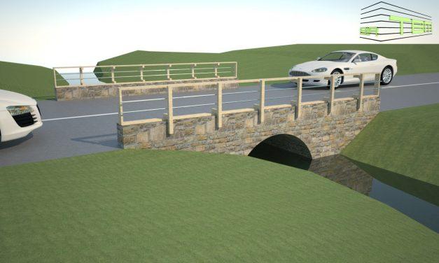 Vești bune pentru locuitorii din Rusu de Jos! Va fi construit un pod peste pârâul Meleș, chiar în zona centrală