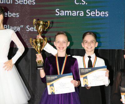 Zona noastră se mândrește cu noi campioni  si vicecampioni naționali la dans sportiv