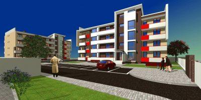 Cum vor arăta noile blocuri ANL ce urmează să fie construite la Beclean – FOTO