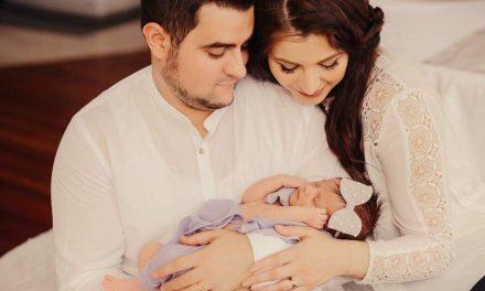 Primarul Nicolae Moldovan a devenit bunic! Fiica lui cea mare, Alina Căpâlna, a publicat primele imagini cu micuța Sofia