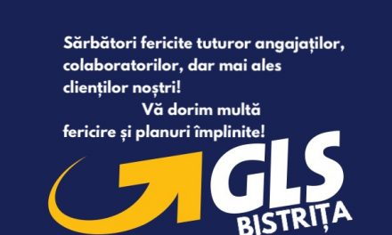 Firma de curierat GLS Bistrița vă urează Sărbători fericite!