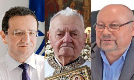 Diplomatul George Maior, preotul Ioan Giurgiuca și omul de afaceri Dan Vasile, desemnați cetăţeni de Onoare ai Becleanului