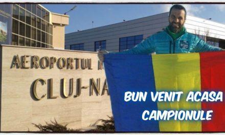 Mobilizare la Beclean pentru întâmpinarea ultramaratonistului Tibi Ușeriu! Iată de unde este plecarea spre Aeroportul din Cluj-Napoca