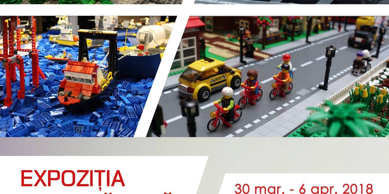 Expoziție de LEGO la Complezul Muzeal Bistrița-Năsăud. Mesajul transmis de către managerul Alexandru Gavrilaș