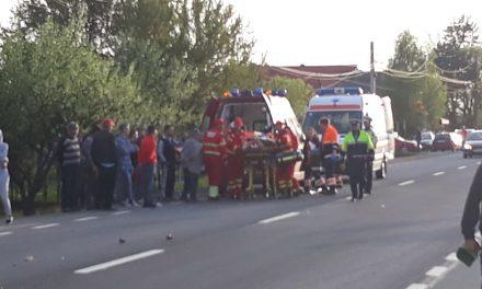 Biciclist accidentat de un autocamion, salvat ca prin minune de către echipajul de prim ajutor SMURD din cadrul Gărzii de intervenție Beclean. Iată ce s-a întâmplat – FOTO