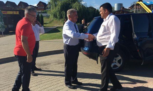 Vicepremierul României, în vizită la Beclean. Iată care a fost motivul pentru care Viorel Ștefan a fost la Băile Figa
