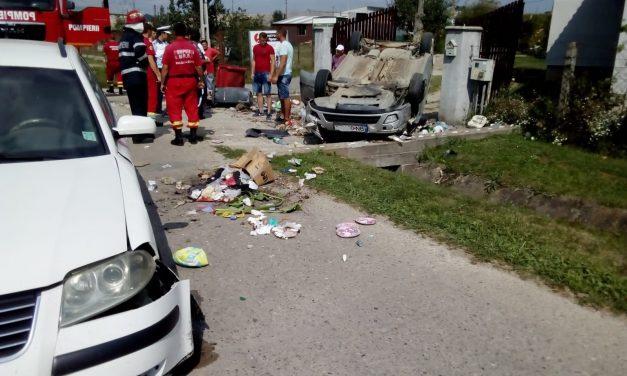 Accident chiar în față la Capelă! Iată cum s-a petrecut totul – FOTO