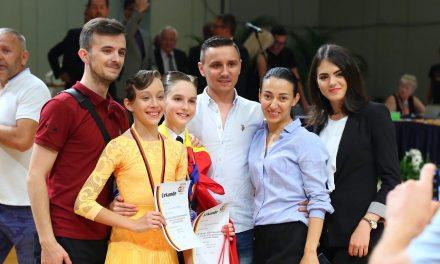 Mara Lechințan și Bogdan Pop au ajuns pe podium la German Open Championship, cea mai importantă competiție a anului pentru dansatorii sportivi – FOTO