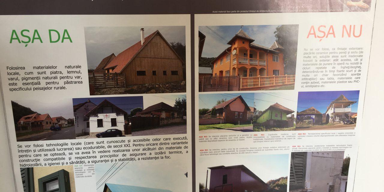 """Ghidul bunelor practici din punct de vedere arhitectural, expus la Colegiul Național """"Petru Rareș"""" Beclean – FOTO"""