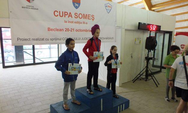Bilanț extraordinar pentru înotătorii beclenari, după participarea la trei concursuri în octombrie: peste 40 de medalii și timpi foarte buni