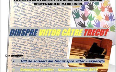 Concert de colinde, expoziție cu scrisori din trecut spre viitor, la Centrul Misionar Social Cultural Beclean. Momente speciale, de Centenar