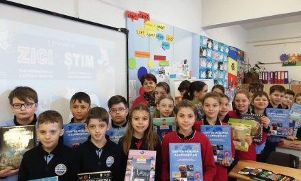 """Z.I.C.I. ca să Ș.T.I.M."", eveniment global la care au participat elevii Școlii Gimnaziale ""Grigore Silași"" Beclean"