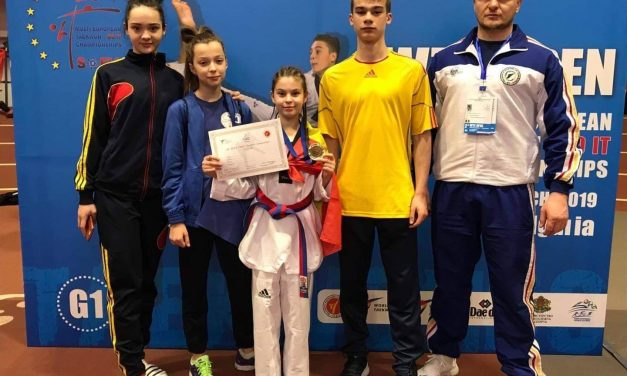 Luiza Bindea a luat aur la Campionatul European G1 de Taekwondo. Reacția familiei – FOTO