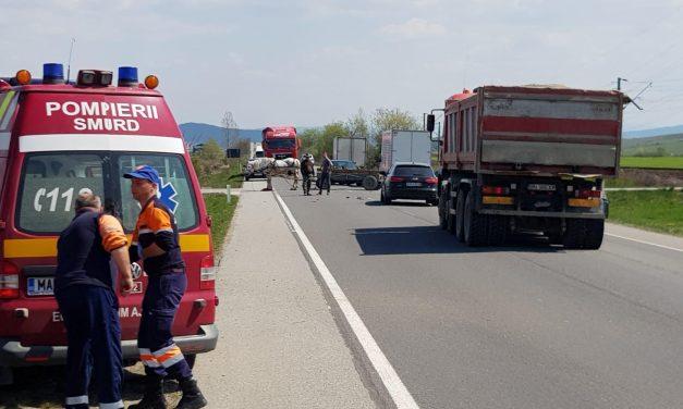 Motociclist rănit grav, în urma impactului cu o căruță pe DN17. Totul s-ar fi petrecut din cauza căruțașului care era băut