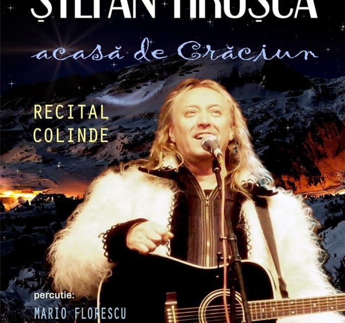 """Ștefan Hrușcă, invitat să susțină un concert extraordinar la Căianu Mic: """"Acasă de Crăciun"""""""
