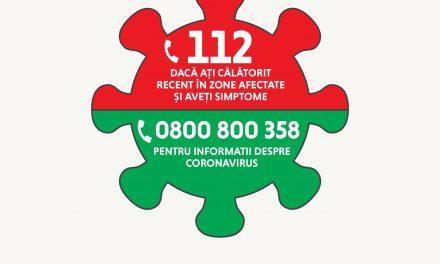 Este stare de urgență în România pentru prevenirea răspândirii coronavirusului